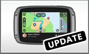 Nieuws Update voor de Tom Tom Rider 550